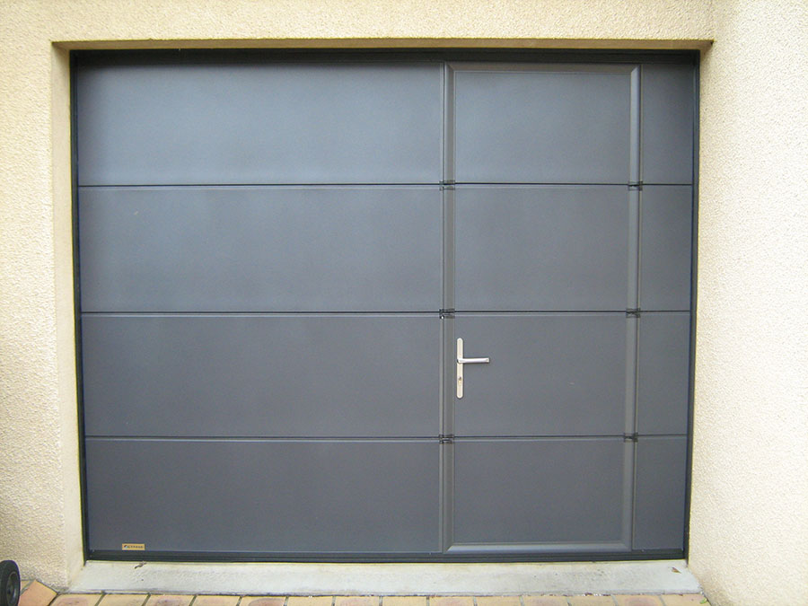 Combien co te une porte de garage for Porte de garage haute